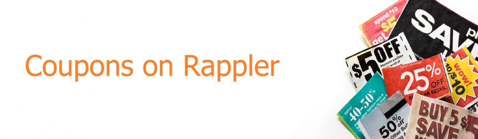 Coupon Rappler page